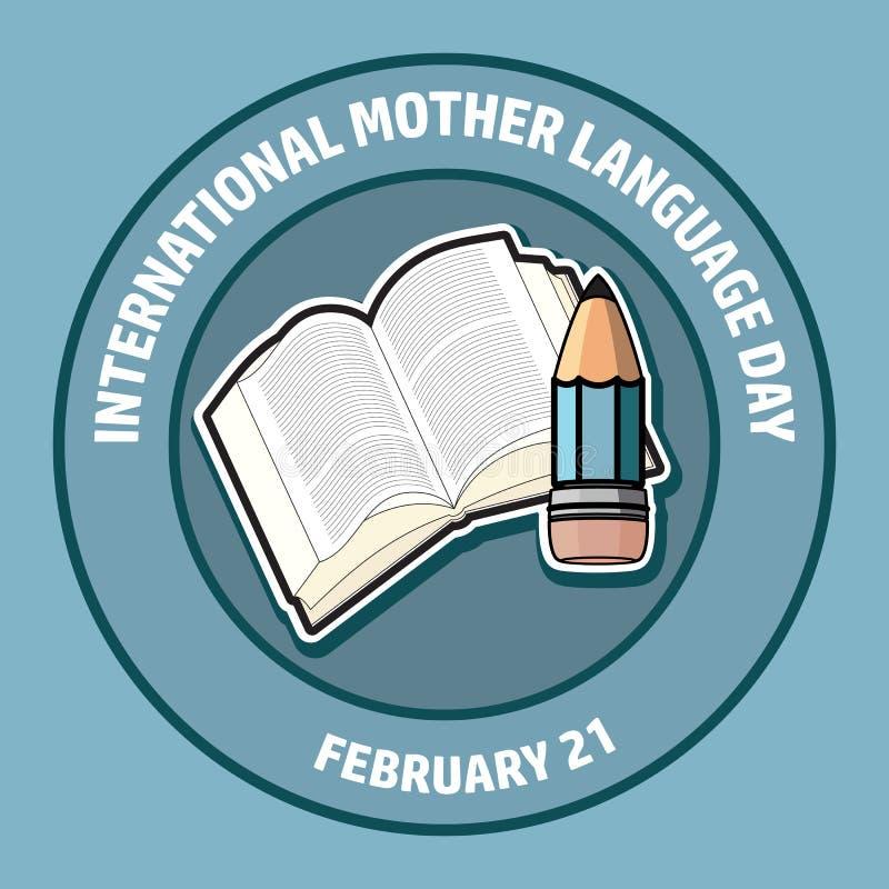 Dia internacional da língua de mãe Ilustração do vetor ilustração do vetor