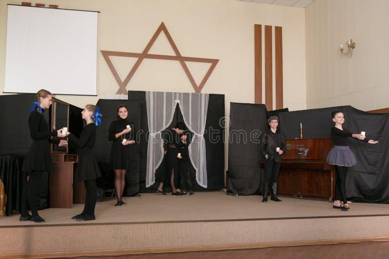 Dia internacional da relembrança do holocausto foto de stock royalty free