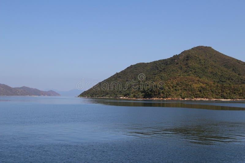 Dia na área do porto de Tolo no navio fotografia de stock royalty free