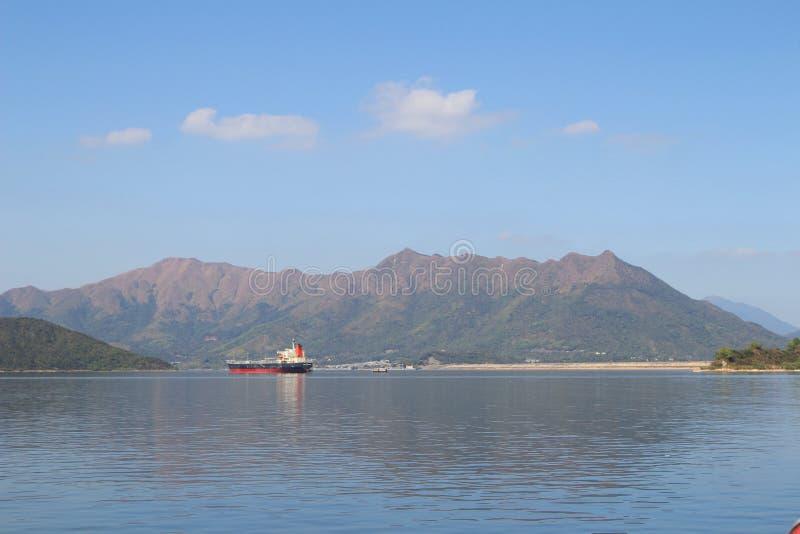 Dia na área do porto de Tolo no navio fotos de stock