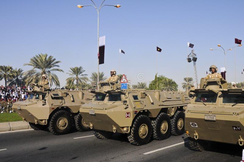 Dia nacional 2010 de Qatar fotografia de stock