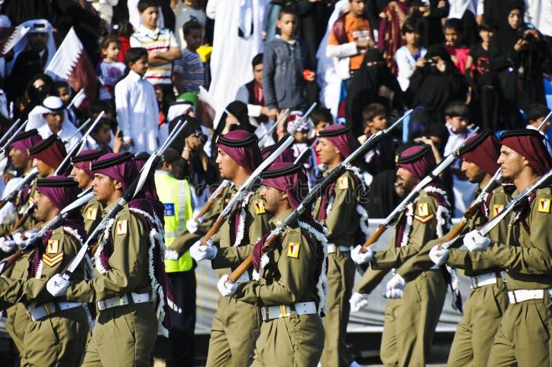 Dia nacional 2010 de Qatar fotos de stock