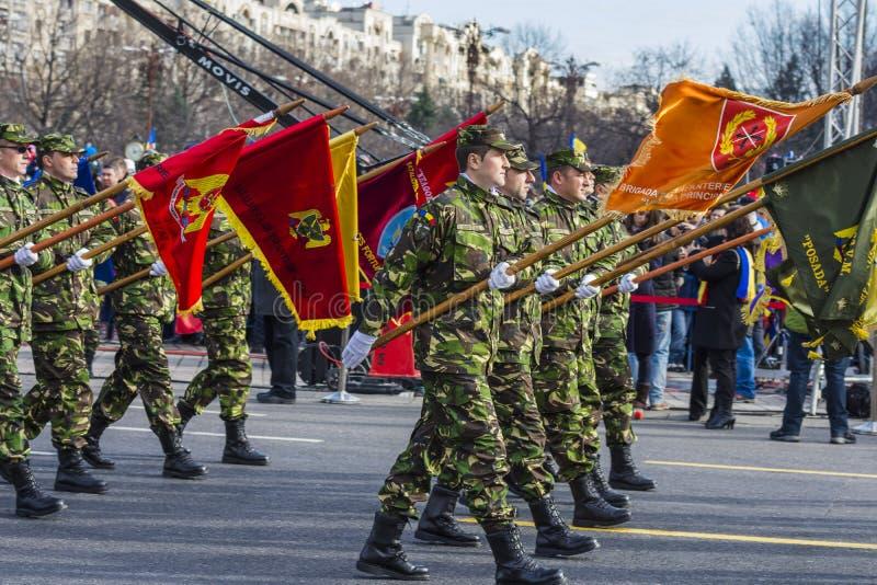 Dia nacional de Romênia imagem de stock