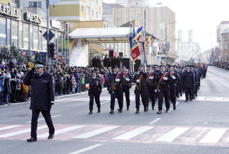 Dia nacional de Romênia, o 1º de dezembro de 2018 imagem de stock royalty free