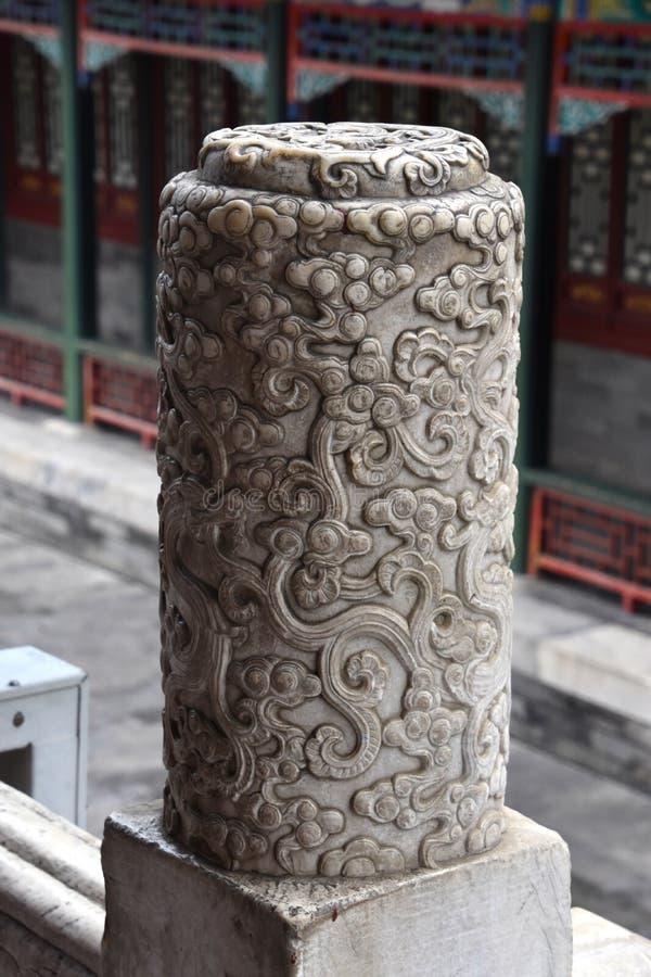 Dia nebuloso no palácio de verão, Pequim, China foto de stock royalty free