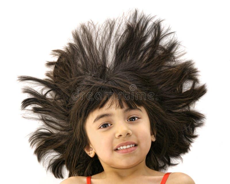 Dia ruim do cabelo fotografia de stock royalty free