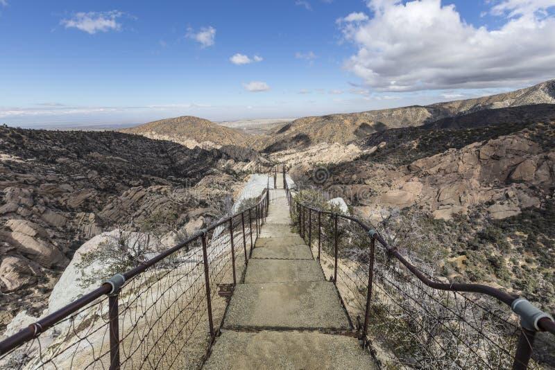 Diabła Punchbowl Los Angeles okręgu administracyjnego park obrazy royalty free
