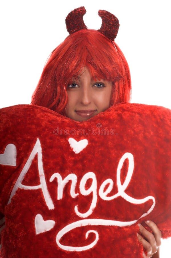 diabeł anioła fotografia stock