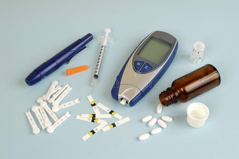 Diabetes foto de stock