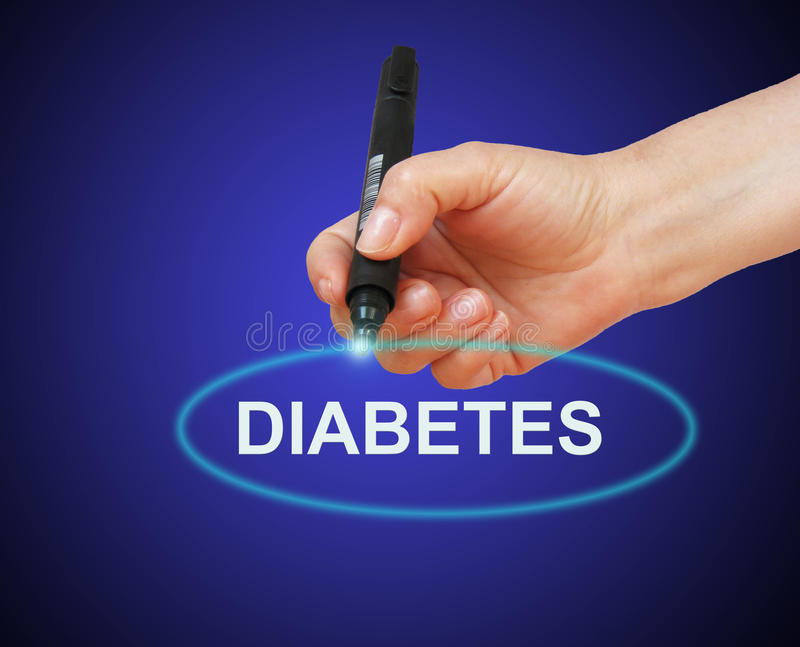 diabetes fotografia de stock royalty free