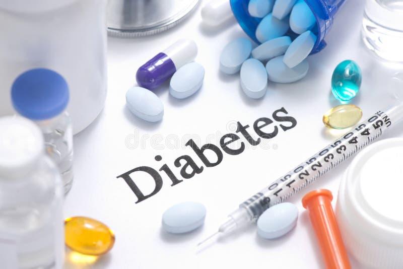 diabetes foto de archivo