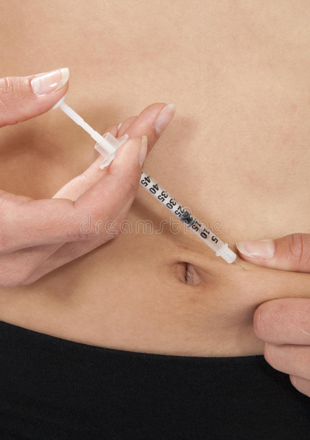 Download Diabetes Insulin Vaccination Stock Photo - Image: 21506220