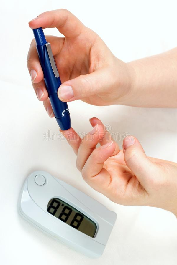 Diabetes stock photography