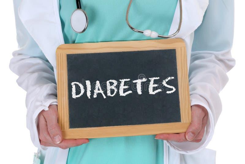 Diabetes sugar disease ill illness healthy health doctor royalty free stock photography