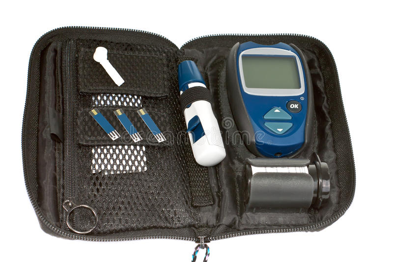 Download Diabetic items. stock photo. Image of glucose, measurement - 25788472