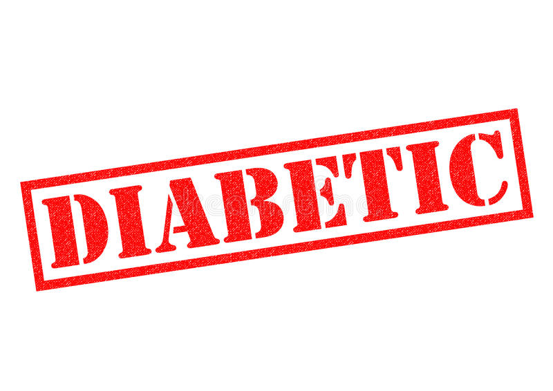 diabetiker stock illustrationer