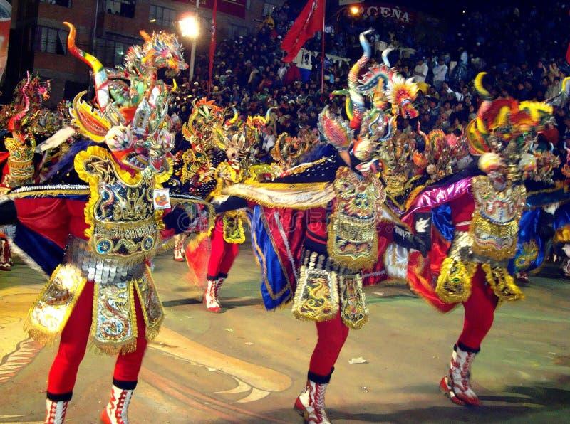 Diablada royaltyfri fotografi