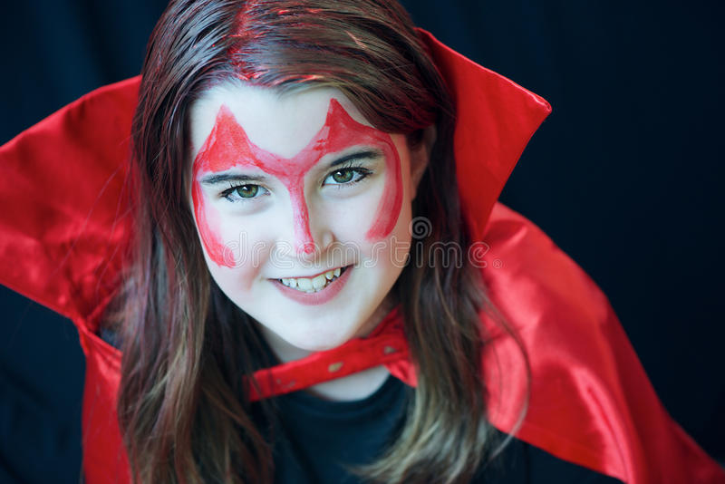 Diable rouge image stock