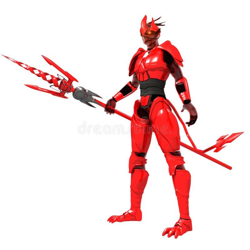 Diable rouge photographie stock libre de droits