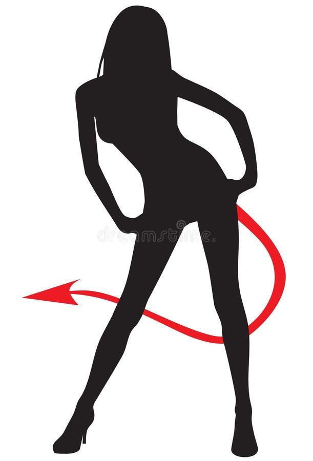 Diablo ilustración del vector