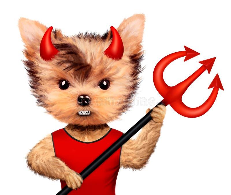 Download Diablo Animal Divertido Halloween Y Concepto Malvado Stock de ilustración - Ilustración de gráfico, espeluznante: 100534013