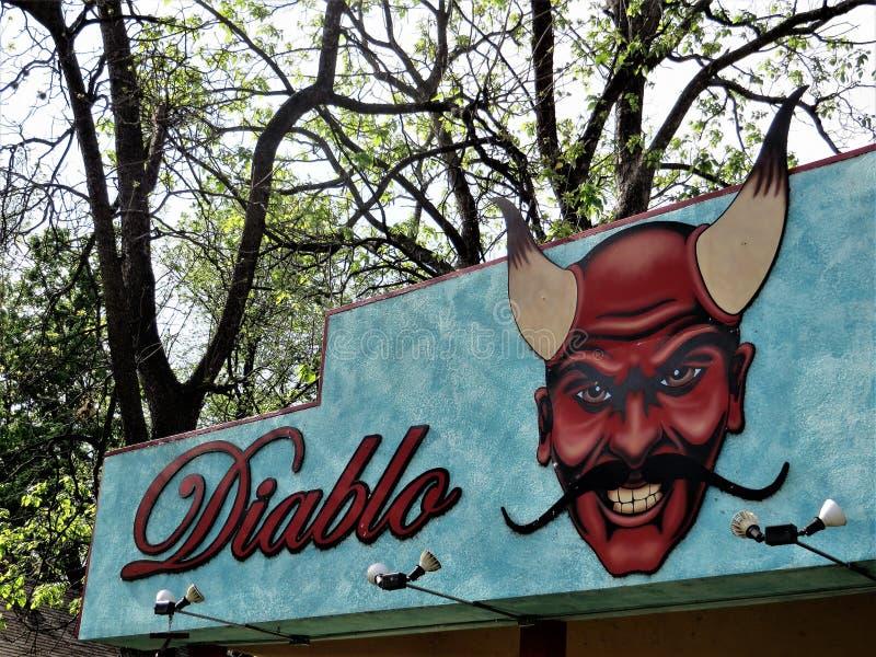 Diablo, Austin, Teksas obraz stock