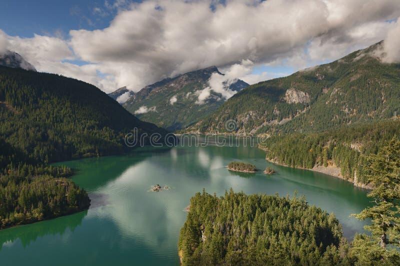 Diablo Lake royalty free stock images