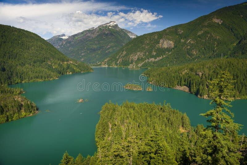 Diablo Lake royalty free stock photography