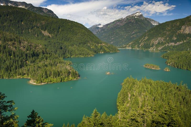 Diablo Lake royalty free stock photo