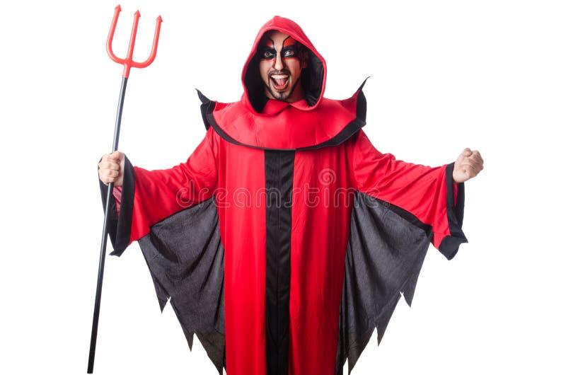 Diabo do homem imagem de stock