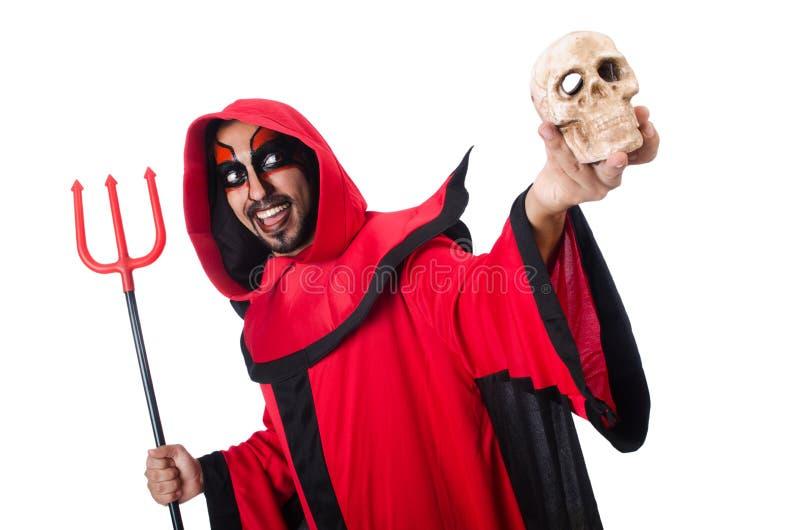 Diabo do homem imagem de stock royalty free