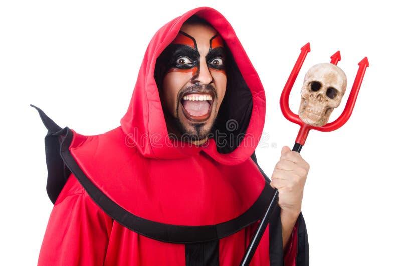 Diabo do homem imagens de stock royalty free