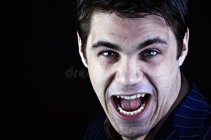 Download Diabo maníaco imagem de stock. Imagem de demon, nervoso - 12802631