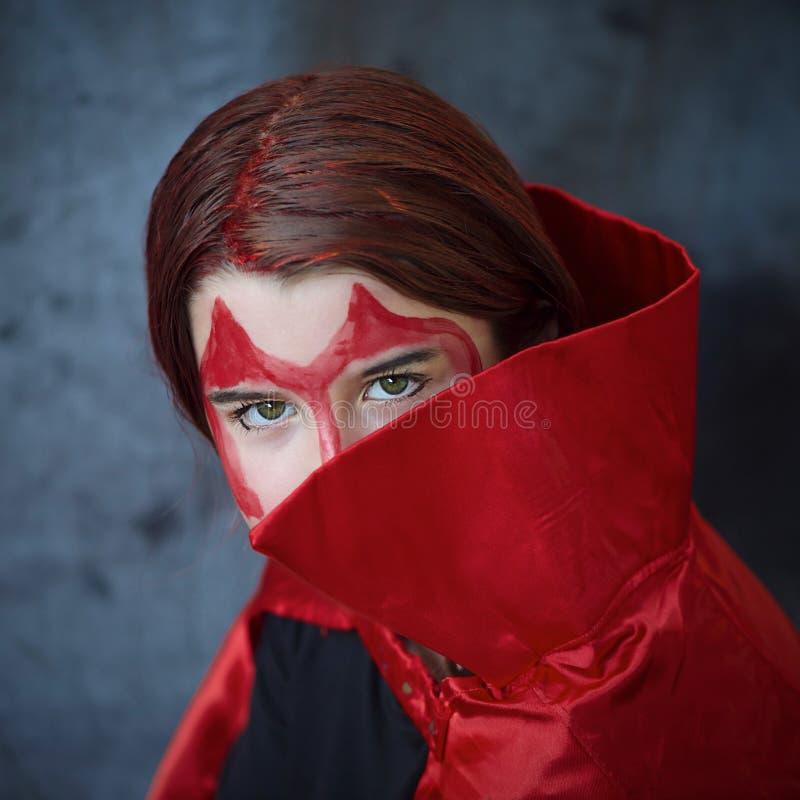 Diabo vermelho imagem de stock