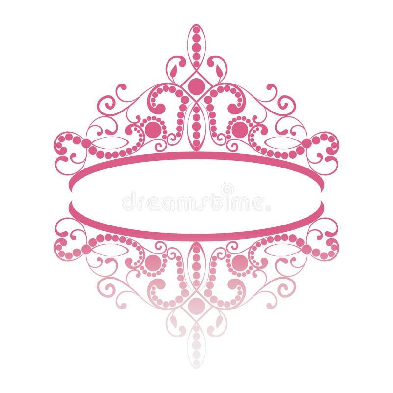 diadem Тиара элегантности женственная с отражением бесплатная иллюстрация