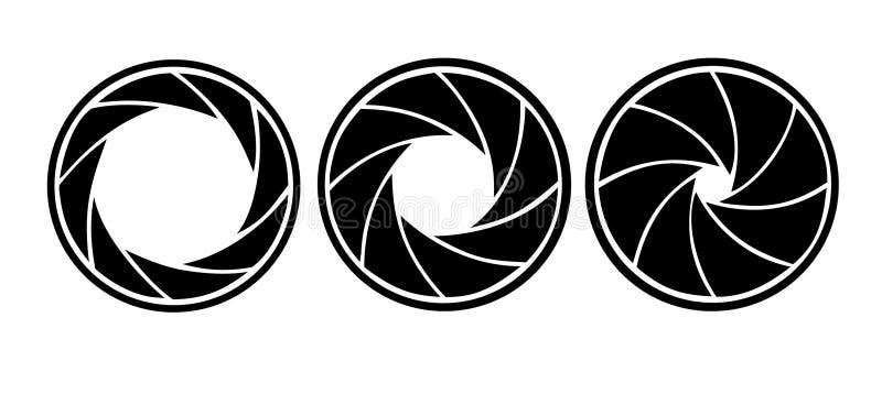 Diafragma ilustração stock
