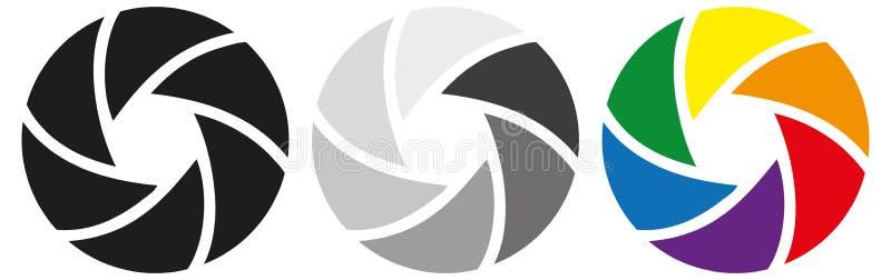 Diafragma ilustração do vetor