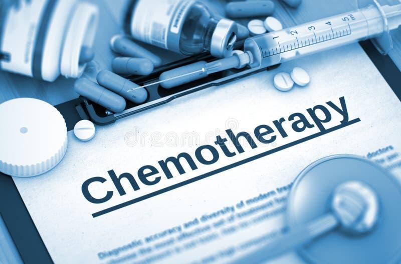 Diagnóstico da quimioterapia Conceito MÉDICO imagens de stock royalty free