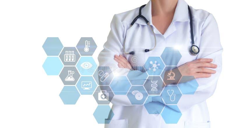 Diagnóstico e tratamento imagem de stock royalty free