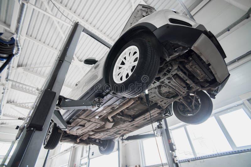 Diagnose van de chassis stock fotografie