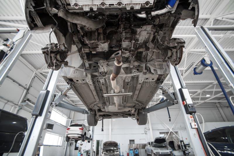 Diagnose van de chassis royalty-vrije stock fotografie
