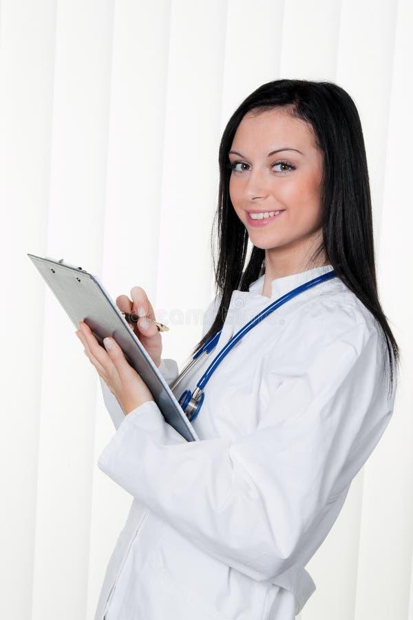 Diagnosi del medico immagine stock