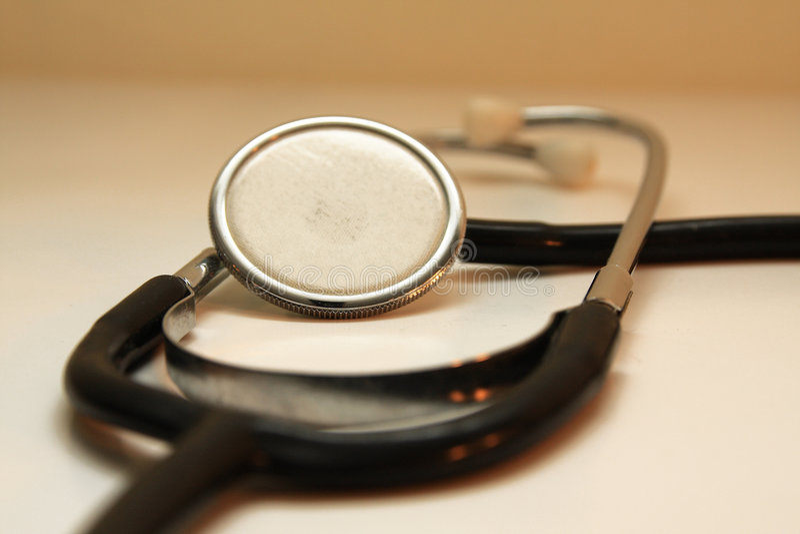 Diagnosis de la máquina del corazón foto de archivo
