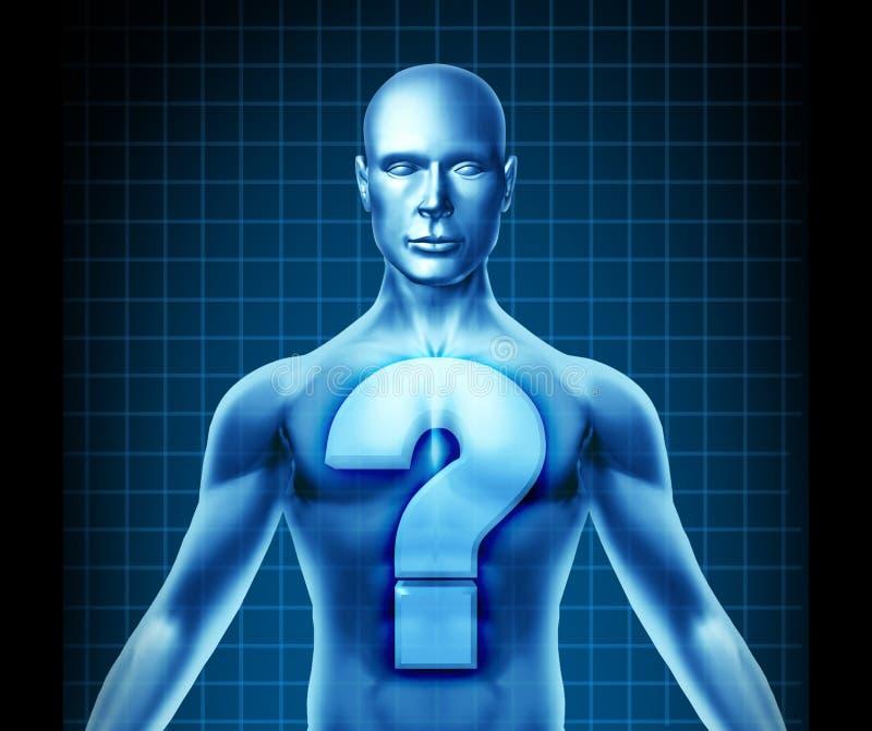 Diagnosis médica ilustración del vector