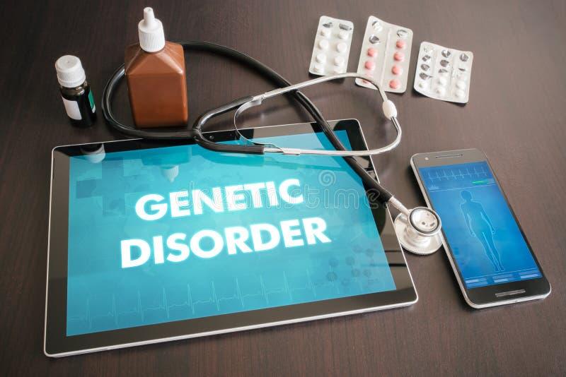 Diagnosläkarundersökning för genetisk oordning (brist, gen, syndrom) fotografering för bildbyråer
