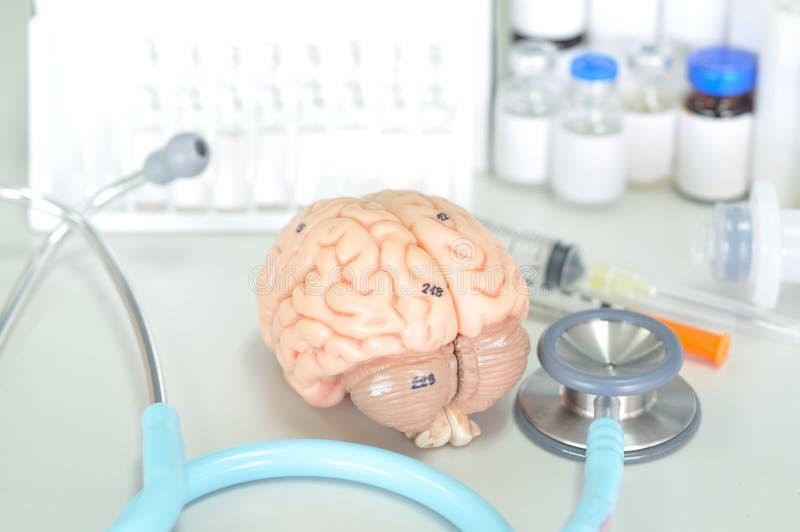 Diagnostic de l'esprit humain photo libre de droits