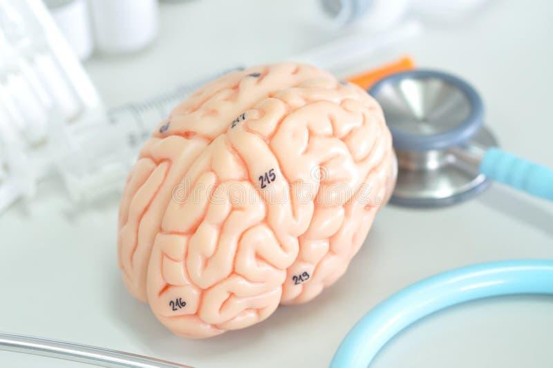Diagnostic de l'esprit humain image libre de droits