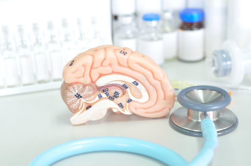 Diagnostic de l'esprit humain images stock
