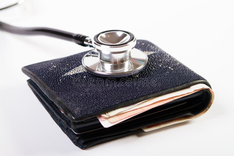 Diagnostichi le finanze immagini stock