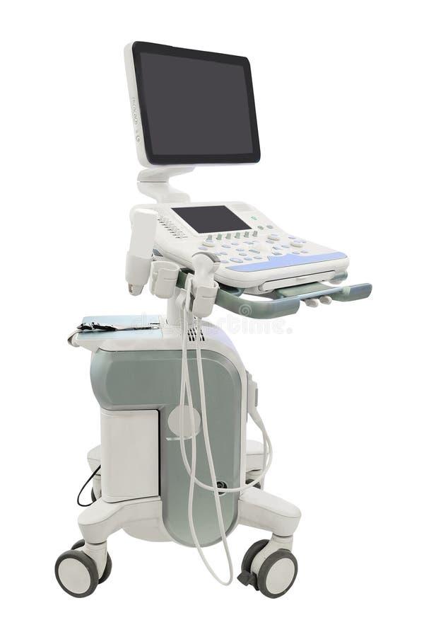 Diagnostisk maskin för medicinsk ultraljud royaltyfri fotografi